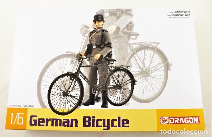 Figuras de acción: Dragon Models 1/6 German Bicycle (Bicicleta alemana) - Foto 4 - 278344323
