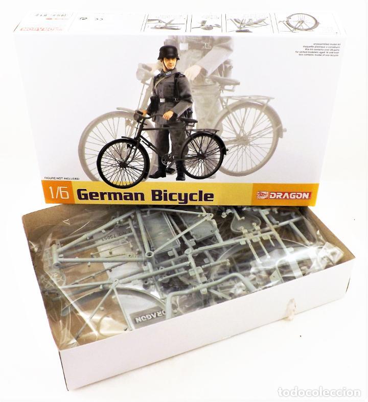 Figuras de acción: Dragon Models 1/6 German Bicycle (Bicicleta alemana) - Foto 6 - 278344323