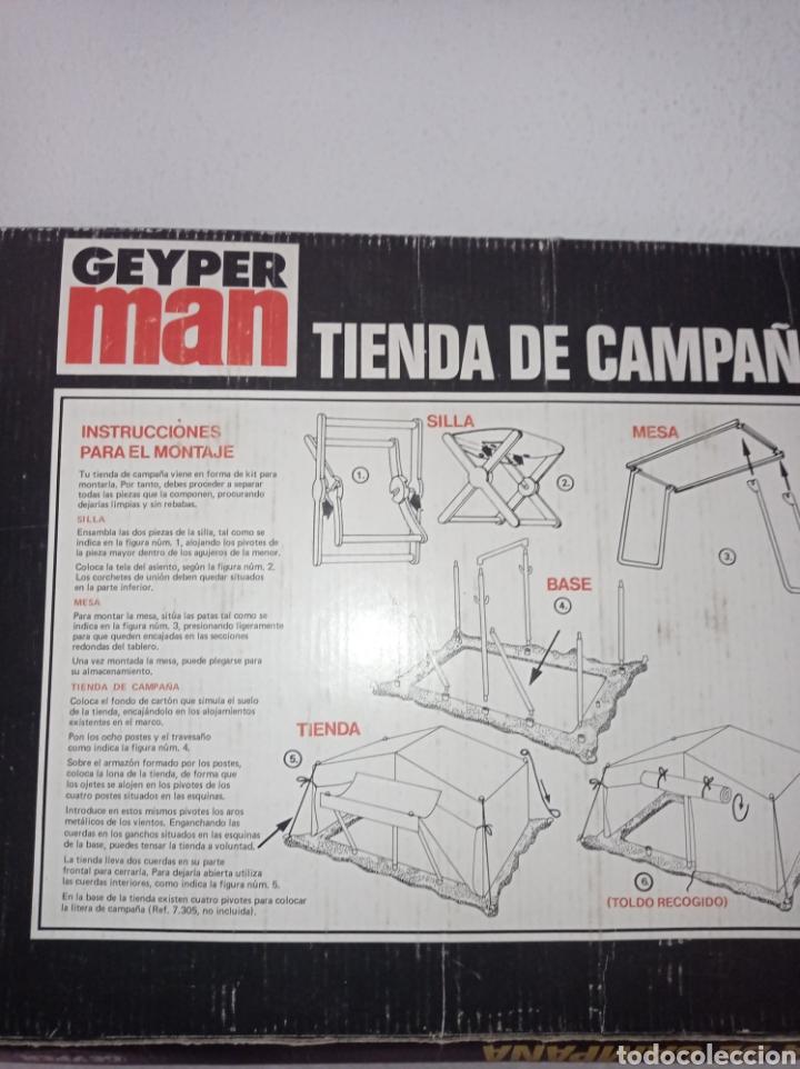 Figuras de acción: Caja vacía geyperman. TIENDA DE CAMPAÑA, REF. 7400, 1°EPOCA, 1975. - Foto 2 - 278701033