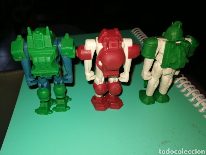 ROBOTS PLASTICO 7 CM (Juguetes - Figuras de Acción - Otras Figuras de Acción)