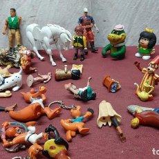 Figuras de acción: LOTE 25 FIGURAS...LLAVEROS OLIMPICOS..MAFALDA..PLAYMOBIL..GUERREROS... Lote 286155533