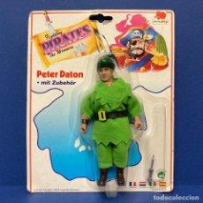 Figuras de acción: EUROPLAY PIRATAS PETER DATON. NUEVO. VINTAGE. AÑOS 90'. A ESTRENAR CON PRECINTO.. Lote 288142518