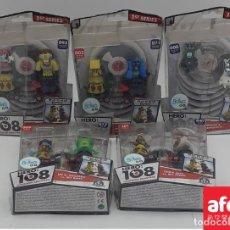 Figuras de acción: LOTE 5 BLISTER DE HERO 108 EN SUS BLISTERS ORIGINALES. Lote 288659948