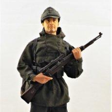 Figurines d'action: DRAGON MODELS ESCALA 1:6 SOLDADO WWII + PEANA EXPOSITORA. Lote 289417173