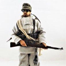 Figurines d'action: DRAGON MODELS ESCALA 1:6 SOLDADO WWII + PEANA EXPOSITORA. Lote 289417863