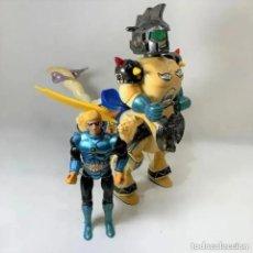 Figuras de acción: GUARDIAN PATROL ROBOT SECTAURS BLACKSTAR - GALAXY FIGHTER WARRIOR. Lote 289783108