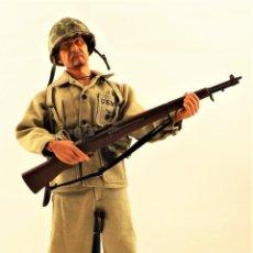 Figuras de acción: DRAGON MODELS ESCALA 1:6 SOLDADO USA WWII + PEANA EXPOSITORA. Lote 289817408