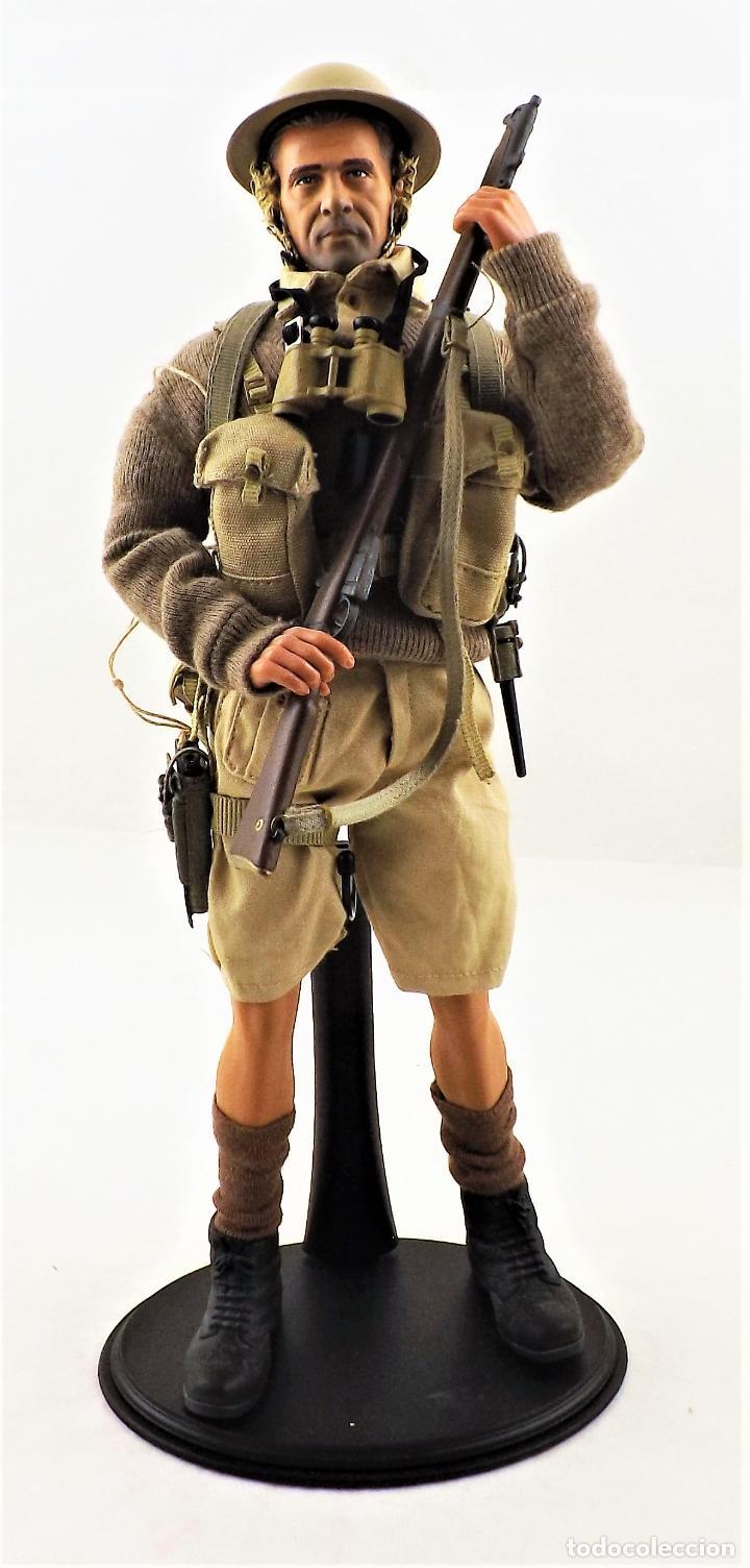 DID, DRAGON ETC... ESCALA 1:6 SOLDADO INGLES WWII + PEANA EXPOSITORA COMPLETA (Juguetes - Figuras de Acción - Otras Figuras de Acción)