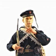 Figuras de acción: DID, DRAGON ETC... ESCALA 1:6 SOLDADO RUSO WWII + PEANA EXPOSITORA COMPLETA. Lote 289860023
