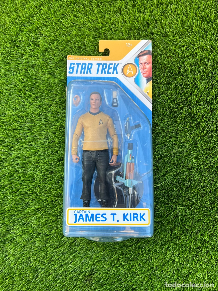 FIGURA CAPITÁN JAMES T. KIRK - STAR TREK (Juguetes - Figuras de Acción - Otras Figuras de Acción)