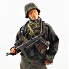 Figuras de acción: DRAGON MODELS ESCALA 1:6 SOLDADO ALEMÁN WWII + PEANA EXPOSITORA. Lote 293877238