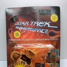 Figuras de acción: STAR TREK INNERSPACE SERIES CARDASSIAN GALOR-CLASS WARSHIP NAVE TIPO MICROMACHINES STAR WARS. Lote 294824718