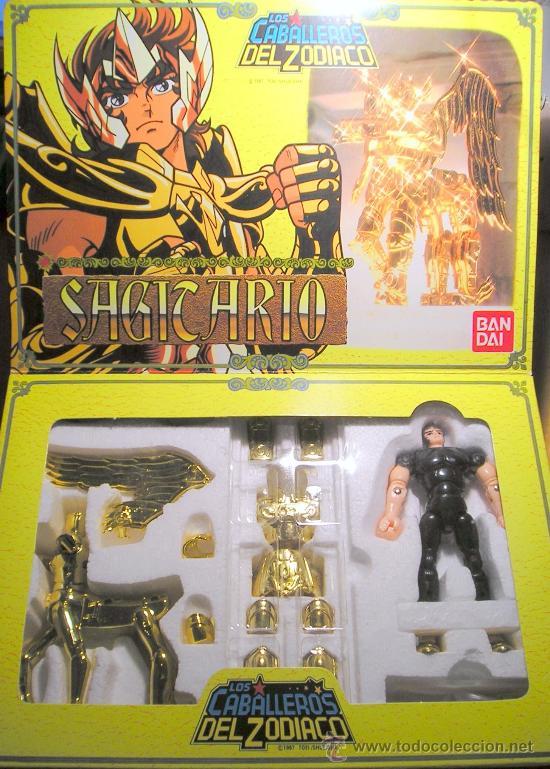 CABALLERO DE SAGITARIO 1987 (Juguetes - Figuras de Acción - Caballeros del Zodiaco)