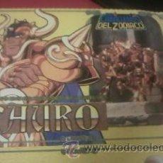 Figuas y Muñecos Caballeros del Zodiaco: CABALLEROS DEL ZODIACO TAURO 1987 BANDAI EN CAJA ORIGINAL. Lote 51426984