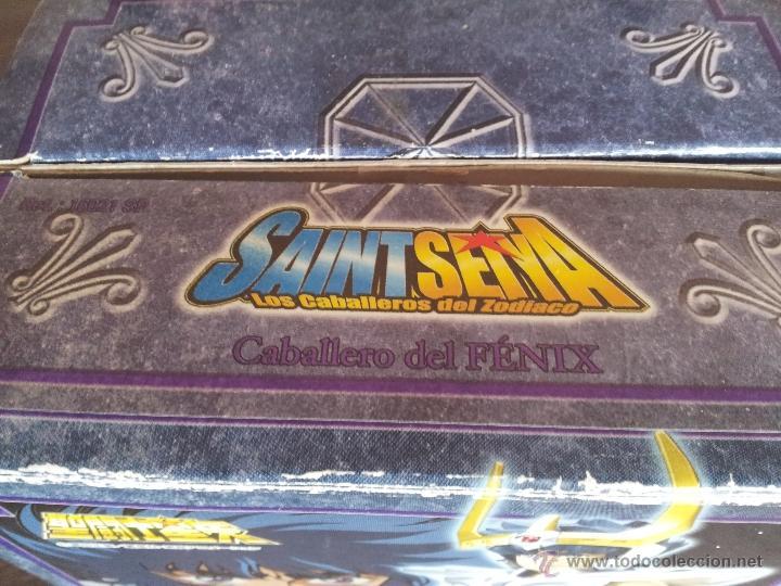 Figuas y Muñecos Caballeros del Zodiaco: SAINT SEIYA - CABALLEROS DEL ZODIACO - MYTH CLOTH IKKI DE FENIX - BANDAI 2004 - Foto 2 - 40800647