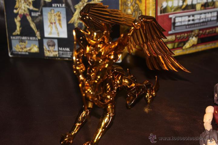 Figuas y Muñecos Caballeros del Zodiaco: BBB SAINT SEIYA CABALLEROS DEL ZODIACO CABALLERO DE ORO SAGITARIO AIOROS BANDAI JAPON - Foto 7 - 168751786