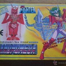 Figuas y Muñecos Caballeros del Zodiaco: ANTIGUA CAJA CABALLEROS DEL ZODIACO ST-10 ST. FIGHTER ANDROMEDA - AÑO 1989 - SIN ESTRENAR. Lote 51062925