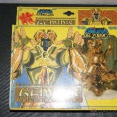 Figuas y Muñecos Caballeros del Zodiaco: CABALLERO DEL ZODIACO ORO SAINT SEIYA GEMINIS BANDAI VINTAGE 1989. Lote 52471905
