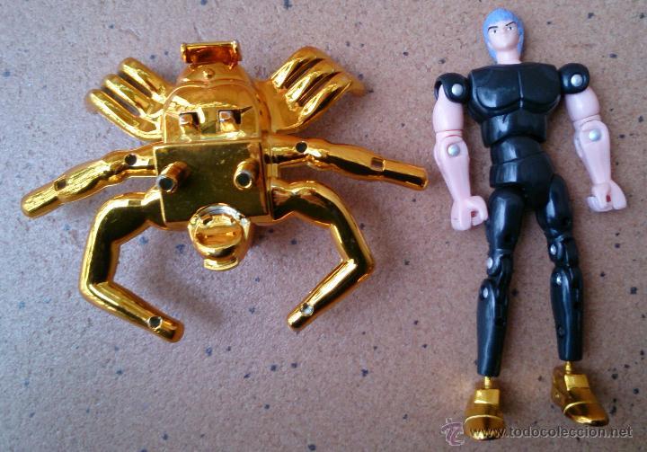 Figuas y Muñecos Caballeros del Zodiaco: Figura oro Caballeros del Zodiaco Bandai Cancer - Foto 3 - 54672959