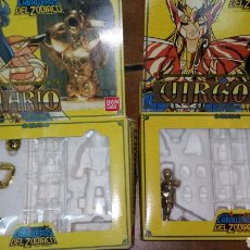 Figuas y Muñecos Caballeros del Zodiaco: 2 CAJAS VACÍAS DE CABALLEROS DEL ZODIACO. Lote 87551064