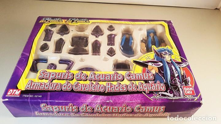 Figuas y Muñecos Caballeros del Zodiaco: caballero del zodiaco sapuris de acuario camus. Creo que le falta un pieza - Foto 2 - 92210355