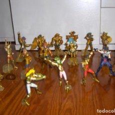 Figuas y Muñecos Caballeros del Zodiaco: CABALLEROS DEL ZODIACO FIGURAS BANDAI LOTE 17 FIGURAS. Lote 93588750