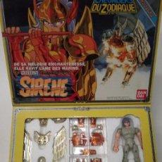 Figuas y Muñecos Caballeros del Zodiaco: LOS CABALLEROS DEL ZODÍACO - BANDAI - 1987 - SIRENE. Lote 100626159
