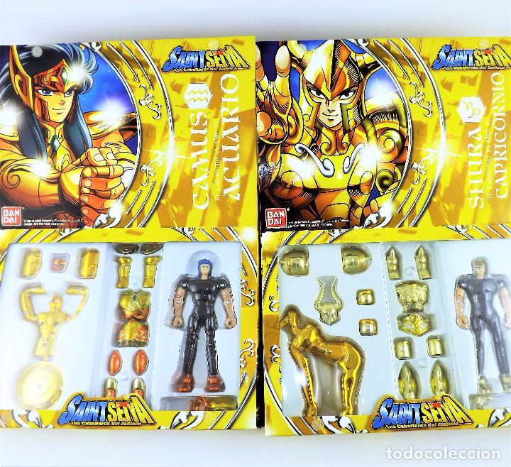 Figuas y Muñecos Caballeros del Zodiaco: Saint Seiya los 12 Caballeros del Zodiaco. Colección completa de Bandai 2006 - Foto 2 - 191248620