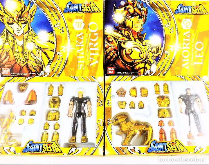 Figuas y Muñecos Caballeros del Zodiaco: Saint Seiya los 12 Caballeros del Zodiaco. Colección completa de Bandai 2006 - Foto 5 - 177628893