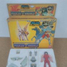 Figuas y Muñecos Caballeros del Zodiaco: PEGASO DE BRONCE VINTAGE 1989 CABALLERO DEL ZODIACO BANDAI COMPLETO ESPAÑOL. Lote 118553951