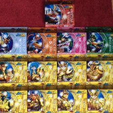 Figuas y Muñecos Caballeros del Zodiaco: COLECCIÓN 17 CABALLEROS DEL ZODIACO BANDAI. Lote 120756235