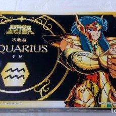 Figuas y Muñecos Caballeros del Zodiaco: CABALLEROS DEL ZODIACO AQUARIUS ACUARIO BANDAI 2004 BOX CAJA COMPLETO. Lote 126874495