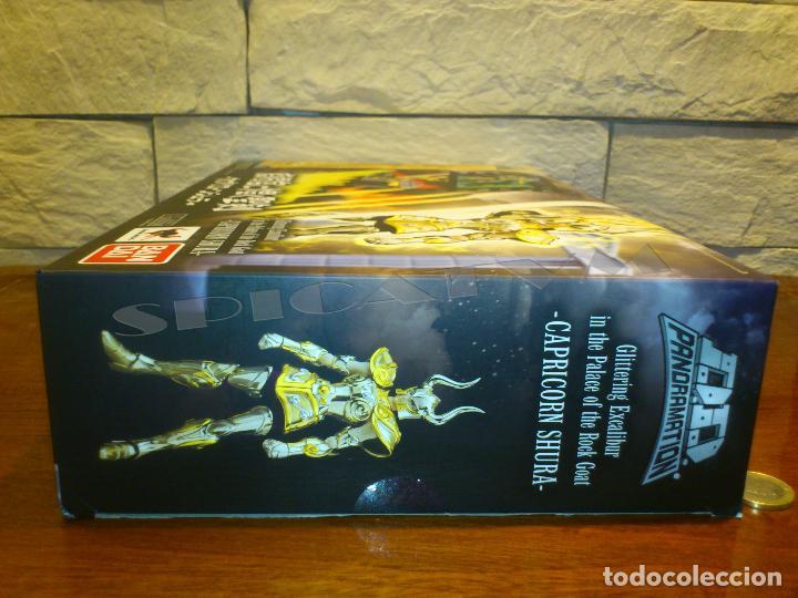 Figuas y Muñecos Caballeros del Zodiaco: SAINT SEIYA - PANORAMATION - EXCALIBUR - CAPRICORN SHURA - BANDAI - TAMASHII NATIONS - NUEVO - Foto 14 - 129738611