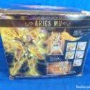 Figuas y Muñecos Caballeros del Zodiaco: CABALLEROS DEL ZODIACO - SAINT CLOTH MYTH EX -ARIES MU- GOD CLOTH, VER FOTOS Y DESCRIPCIÓN! SM. Lote 132273122