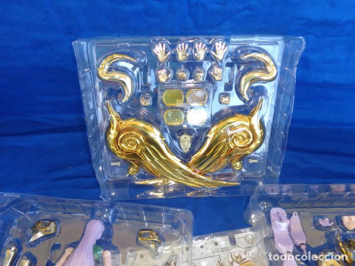 Figuas y Muñecos Caballeros del Zodiaco: CABALLEROS DEL ZODIACO - SAINT CLOTH MYTH EX -ARIES MU- GOD CLOTH, VER FOTOS Y DESCRIPCIÓN! SM - Foto 4 - 132273122