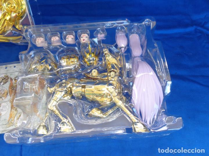 Figuas y Muñecos Caballeros del Zodiaco: CABALLEROS DEL ZODIACO - SAINT CLOTH MYTH EX -ARIES MU- GOD CLOTH, VER FOTOS Y DESCRIPCIÓN! SM - Foto 10 - 132273122