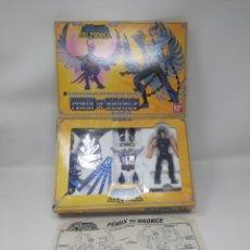 Figuas y Muñecos Caballeros del Zodiaco: CABALLERO DEL ZODIACO FENIX DE BRONCE BANDAI 1987. COMPLETO CON INSTRUCCIONES . Lote 132733322