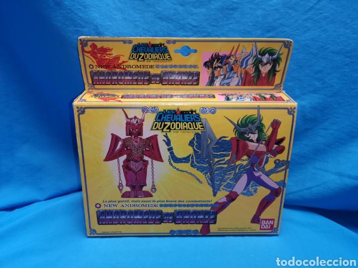 Figuas y Muñecos Caballeros del Zodiaco: Les chevaliers Du zodiaque Andromede de bronze Bandai 1987 toei / shueisha / tf1. Caballeros zodiaco - Foto 2 - 144820752