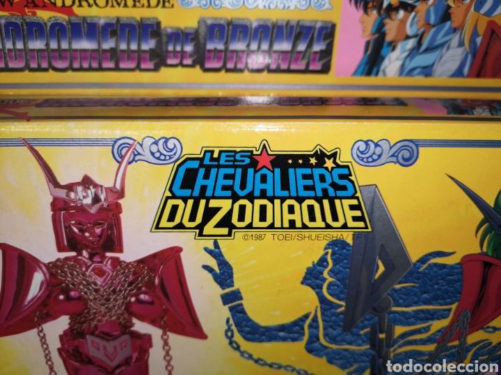 Figuas y Muñecos Caballeros del Zodiaco: Les chevaliers Du zodiaque Andromede de bronze Bandai 1987 toei / shueisha / tf1. Caballeros zodiaco - Foto 14 - 144820752