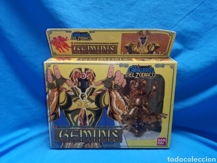 LOS CABALLEROS DEL ZODIACO GEMINIS BANDAI 1987 (Juguetes - Figuras de Acción - Caballeros del Zodiaco)