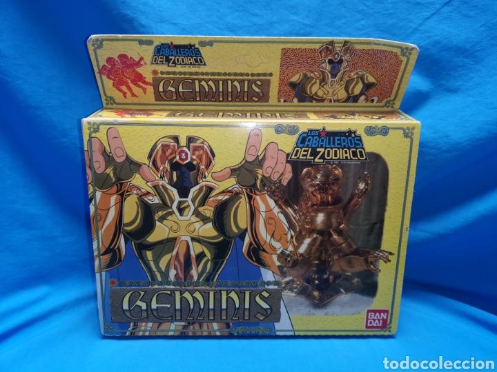 Figuas y Muñecos Caballeros del Zodiaco: Los caballeros del zodiaco geminis Bandai 1987 - Foto 2 - 144823958