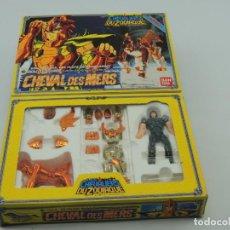 Figuas y Muñecos Caballeros del Zodiaco: LOS CABALLEROS DEL ZODIACO, CHEVAL DES MERS, BANDAI 1987. Lote 150501410