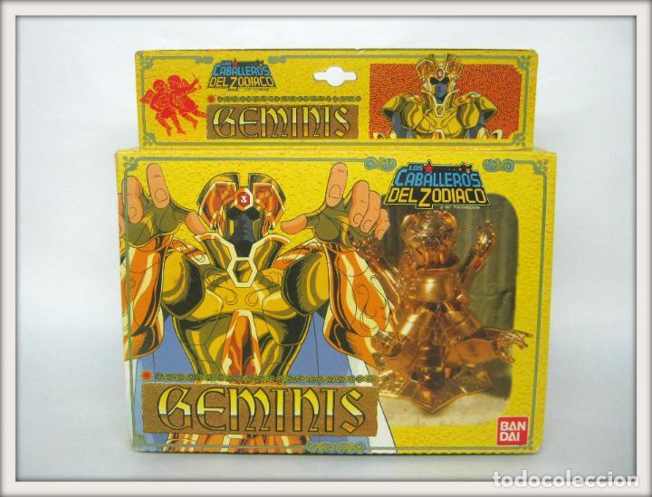 1987 BANDAI LOS CABALLEROS DEL ZODIACO GEMINIS .... DIFÍCIL !! (Juguetes - Figuras de Acción - Caballeros del Zodiaco)