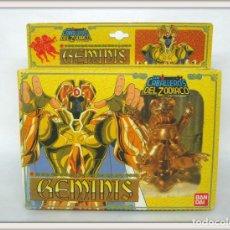 Figuas y Muñecos Caballeros del Zodiaco: 1987 BANDAI LOS CABALLEROS DEL ZODIACO GEMINIS .... DIFÍCIL !!. Lote 156736466