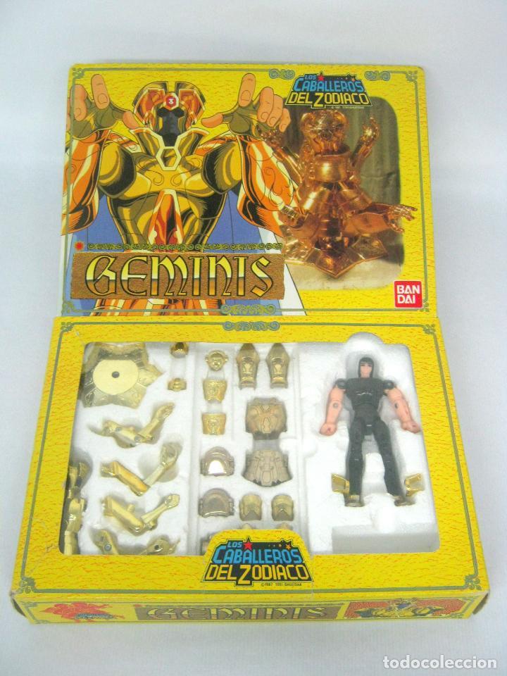 Figuas y Muñecos Caballeros del Zodiaco: 1987 BANDAI Los Caballeros Del Zodiaco GEMINIS .... Difícil !! - Foto 2 - 156736466