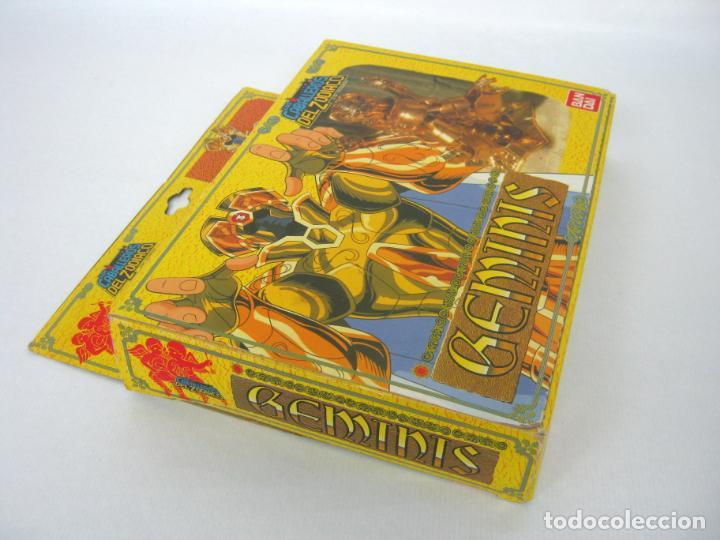 Figuas y Muñecos Caballeros del Zodiaco: 1987 BANDAI Los Caballeros Del Zodiaco GEMINIS .... Difícil !! - Foto 4 - 156736466