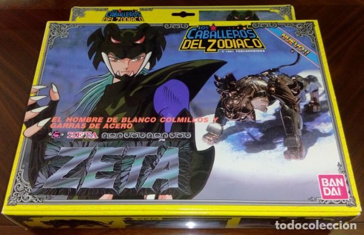FIGURA DE ACCIÓN DE ZETA DE LOS CABALLEROS DEL ZODÍACO DE BANDAI (ESPAÑA - 1991) (Juguetes - Figuras de Acción - Caballeros del Zodiaco)