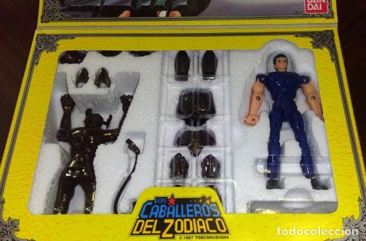 Figuas y Muñecos Caballeros del Zodiaco: FIGURA DE ACCIÓN DE ZETA DE LOS CABALLEROS DEL ZODÍACO DE BANDAI (ESPAÑA - 1991) - Foto 4 - 158004706