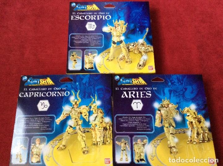 Figuas y Muñecos Caballeros del Zodiaco: Caballeros del zodiaco Saint Seiya Bandai - Foto 3 - 110911223