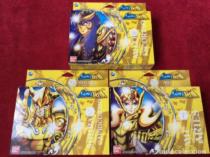Figuas y Muñecos Caballeros del Zodiaco: Caballeros del zodiaco Saint Seiya Bandai - Foto 2 - 110911223